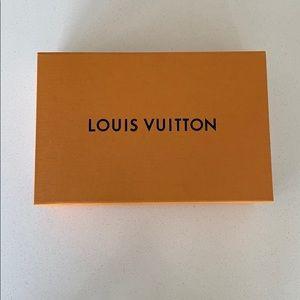 Louis Vuitton box with dust bag